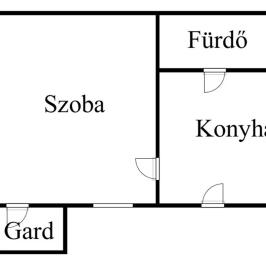 Eladó  téglalakás (Budapest, XIII. kerület) 23 M  Ft