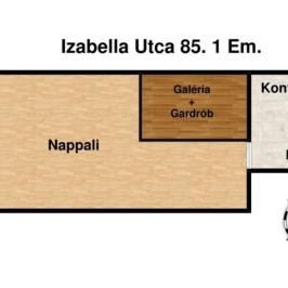 Eladó  téglalakás (Budapest, VI. kerület) 35,9 M  Ft