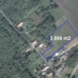 Eladó  telek (Paks, Csámpa) 15,5 M  Ft