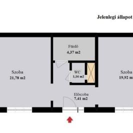 Eladó  téglalakás (Budapest, VII. kerület) 26,9 M  Ft
