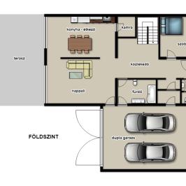 Eladó  családi ház (Eger, Csákó) 65 M  Ft