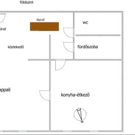 Eladó  téglalakás (Nyíregyháza, Ságvári kertváros) 21,5 M  Ft