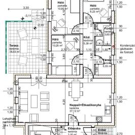 Eladó  ikerház (Érd, Érdliget) 54,9 M  Ft