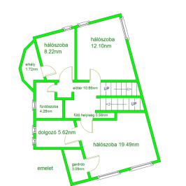 Eladó  téglalakás (Budapest, II. kerület) 109,9 M  Ft