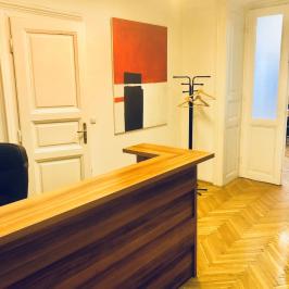 Kiadó  iroda lakásban (Budapest, VI. kerület) 164 E  Ft/hó +ÁFA