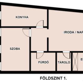 Eladó  téglalakás (Eger, Hatvanihóstya) 32,2 M  Ft