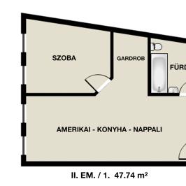 Eladó  téglalakás (Eger, Hatvanihóstya) 23,87 M  Ft