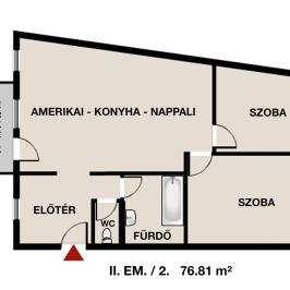 Eladó  téglalakás (Eger, Hatvanihóstya) 34,5 M  Ft