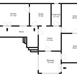 Eladó  családi ház (Jászfelsőszentgyörgy) 8,3 M  Ft