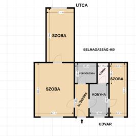 Eladó  téglalakás (Budapest, VIII. kerület) 54,9 M  Ft
