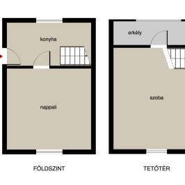 Eladó  családi ház (Eger) 9,5 M  Ft