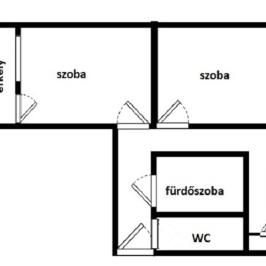 Kiadó  panellakás (Paks, Lakótelep) 250 E  Ft/hó