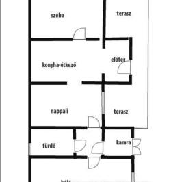 Eladó  családi ház (<span class='notranslate'>Sényő</span>, <span class='notranslate'></span>) 13,5 M   <span class='notranslate'>Ft</span>