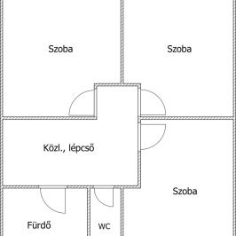 Eladó  ikerház (Budaörs, Alsó kertváros) 81,3 M  Ft