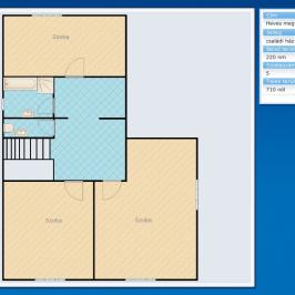 Eladó  családi ház (Eger, Hajdúhegy) 45 M  Ft