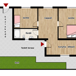 Eladó  családi ház (Eger, Hatvanihóstya) 24,8 M  Ft