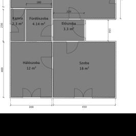 Eladó  családi ház (Múcsony) 8,3 M  Ft