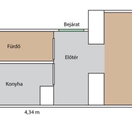 Eladó  téglalakás (Budapest, XIV. kerület) 22 M  Ft