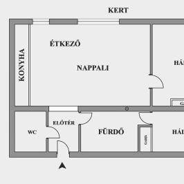 Eladó  téglalakás (Budapest, II. kerület) 76,5 M  Ft