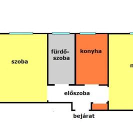 Eladó  téglalakás (Eger) 18,8 M  Ft
