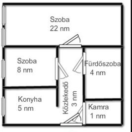 Eladó  téglalakás (Nyíregyháza, Belváros) 15,5 M  Ft