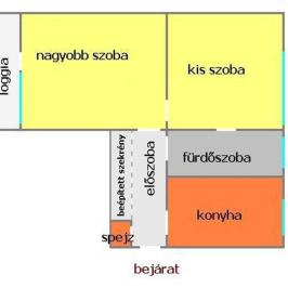 Eladó  téglalakás (Eger) 21,9 M  Ft
