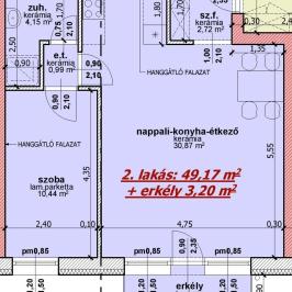 Eladó  téglalakás (Nyíregyháza, Belváros) 22,93 M  Ft