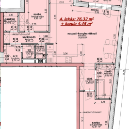 Eladó  téglalakás (Nyíregyháza, Belváros) 32,99 M  Ft