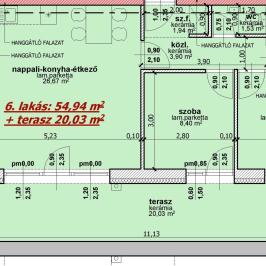 Eladó  téglalakás (Nyíregyháza, Belváros) 29,23 M  Ft