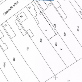 Eladó  telek (Tárnok, Ófalu) 8,6 M  Ft