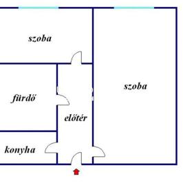 Eladó  panellakás (Debrecen, Fényesudvar) 17 M  Ft
