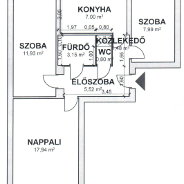 Eladó  panellakás (Nyíregyháza, Jósaváros) 18,99 M  Ft