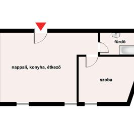 Eladó  téglalakás (Eger, Hatvanihóstya) 27,55 M  Ft