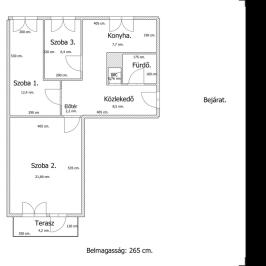 Eladó  panellakás (Budapest, XXI. kerület) 27,9 M  Ft