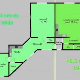Eladó  téglalakás (Budapest, XIV. kerület) 41,5 M  Ft