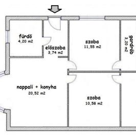 Eladó  ikerház (<span class='notranslate'>Budapest, XVIII.  </span>kerület) 48,4 M   <span class='notranslate'>Ft</span>