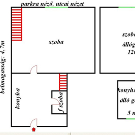 Eladó  téglalakás (Budapest, VIII. kerület) 27,9 M  Ft