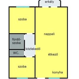 Eladó  téglalakás (Eger, Maklárihóstya) 28,8 M  Ft