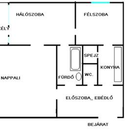 Eladó  panellakás (Eger, Felsőváros) 16,8 M  Ft