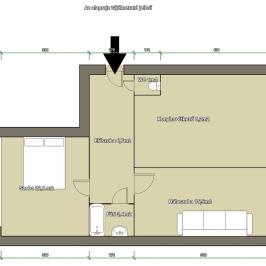 Eladó  panellakás (Vác, Alsóváros) 21,5 M  Ft