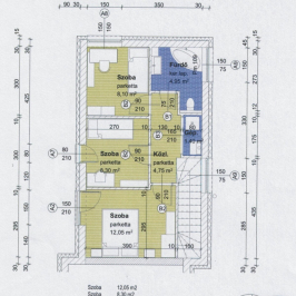 Eladó  ikerház (Budaörs, Törökugrató) 86 M  Ft