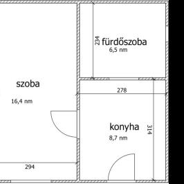 Eladó  téglalakás (Budapest, XVI. kerület) 19,9 M  Ft
