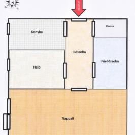 Eladó  panellakás (Vác, Alsóváros) 19,4 M  Ft