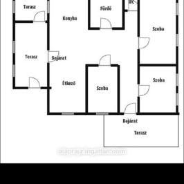 Eladó  családi ház (Napkor) 11 M  Ft