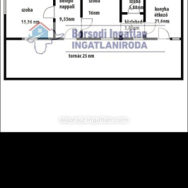 Eladó  családi ház (Hernádkércs) 4,8 M  Ft