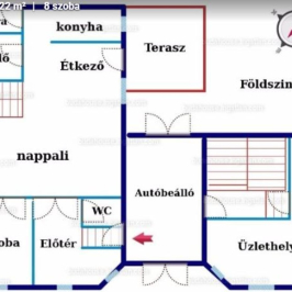 Eladó  családi ház (<span class='notranslate'>Kecskemét</span>, <span class='notranslate'>Belváros</span>) 68 M   <span class='notranslate'>Ft</span>