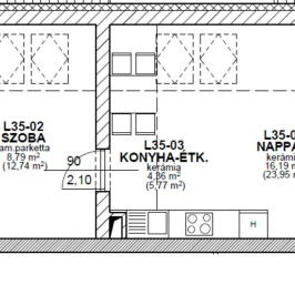 Eladó  téglalakás (Mosonmagyaróvár, Majorok) 14,9 M  Ft