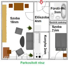 Kiadó  panellakás (Budapest, IV. kerület) 129 E  Ft/hó