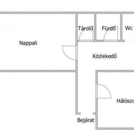 Kiadó  panellakás (Nyíregyháza, Belváros) 75 E  Ft/hó