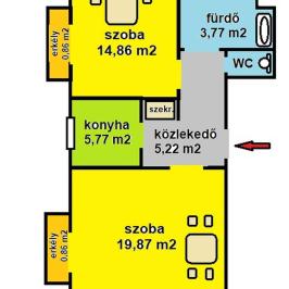 Eladó  téglalakás (<span class='notranslate'>Budapest, IX.  </span>kerület) 45.99 M   <span class='notranslate'>Ft</span>